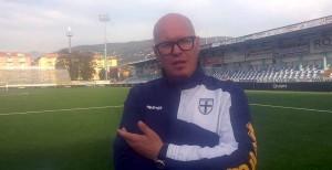 Cristian Iori dopo Entella Parma