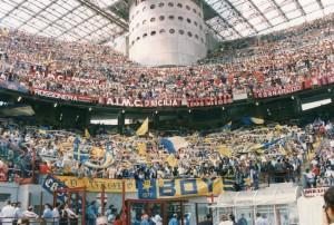 MilanParma1991Tifo