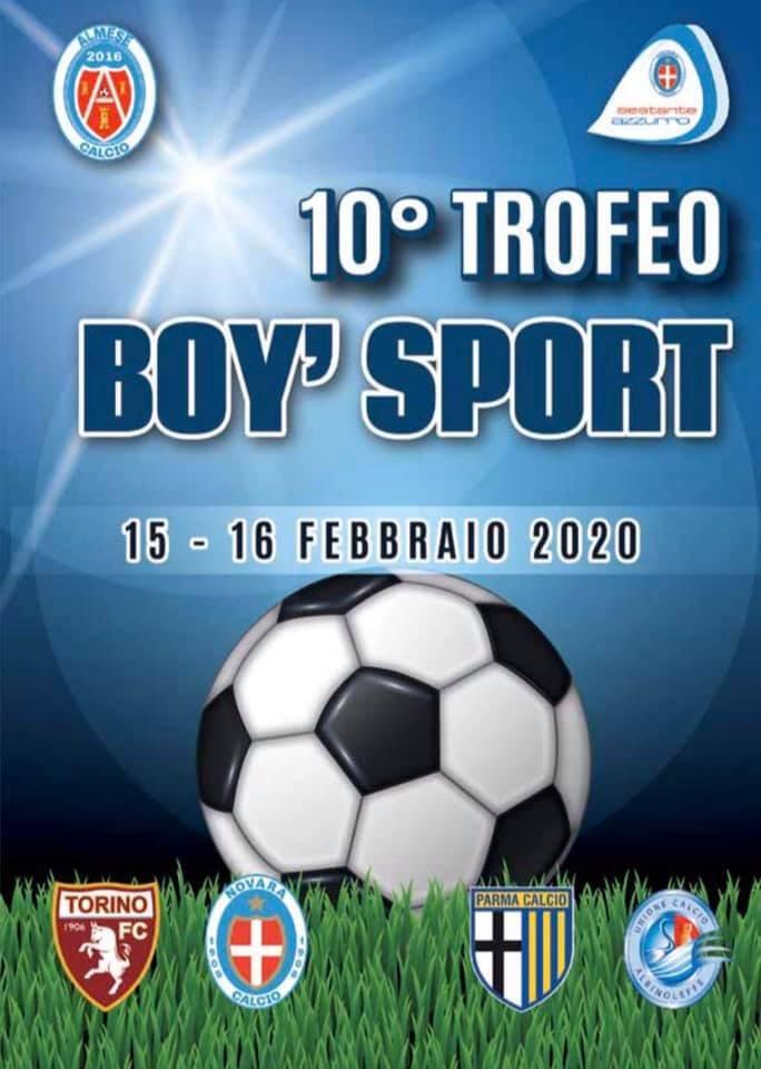10° trofeo Boy Sport