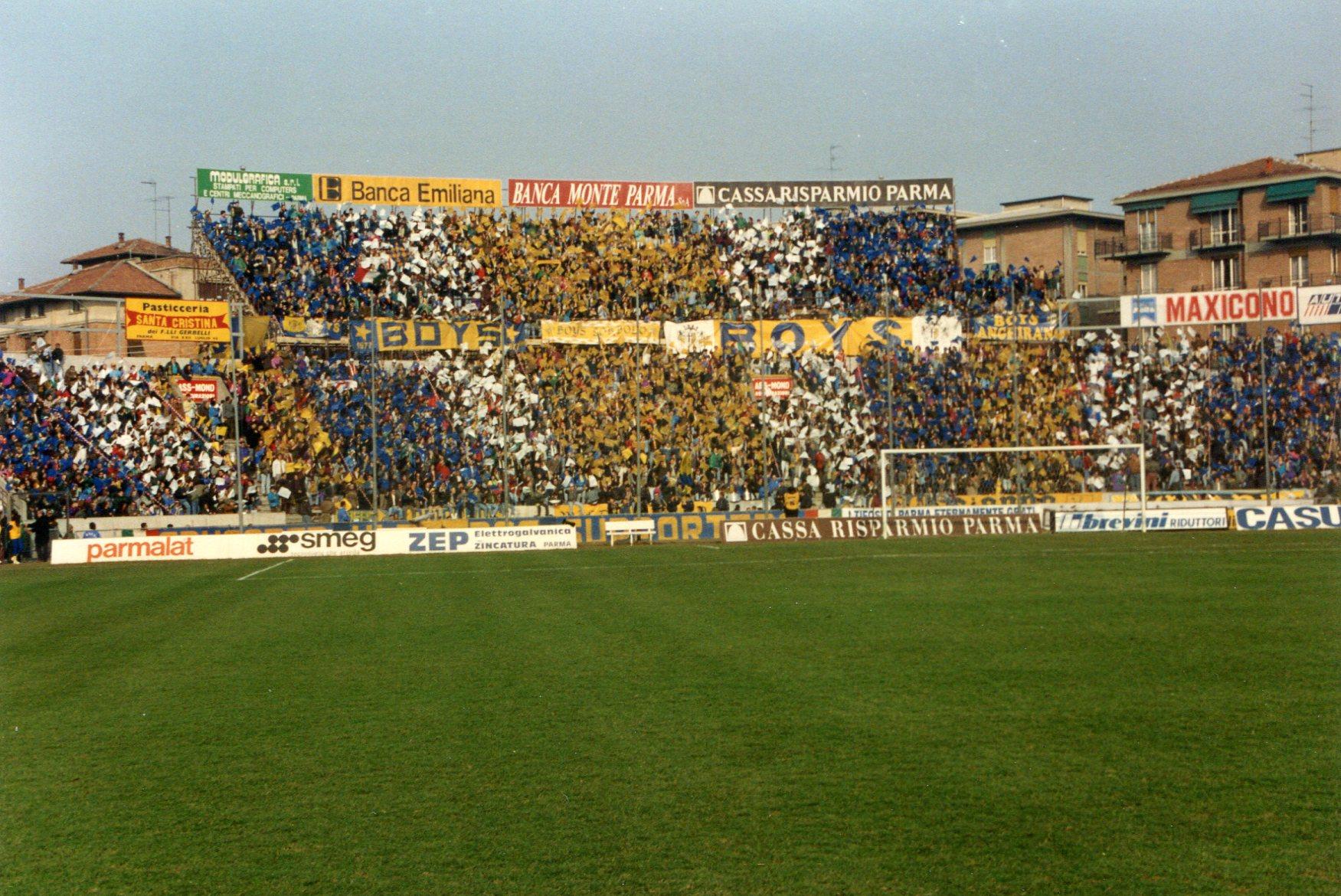 ParmaNapoli1992Tifo1